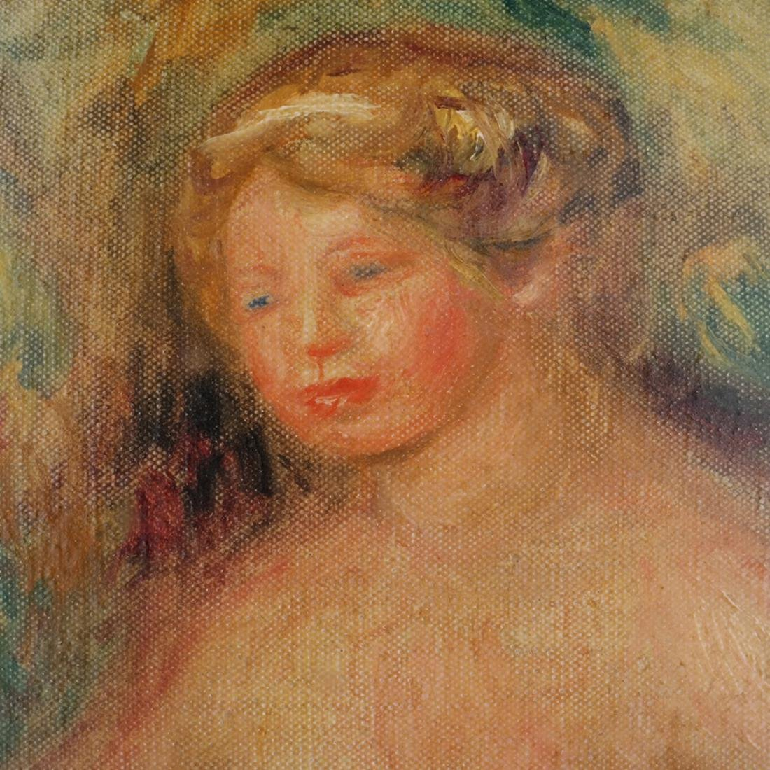 Pierre-Auguste Renoir (French, 1841-1919) O/C - 4