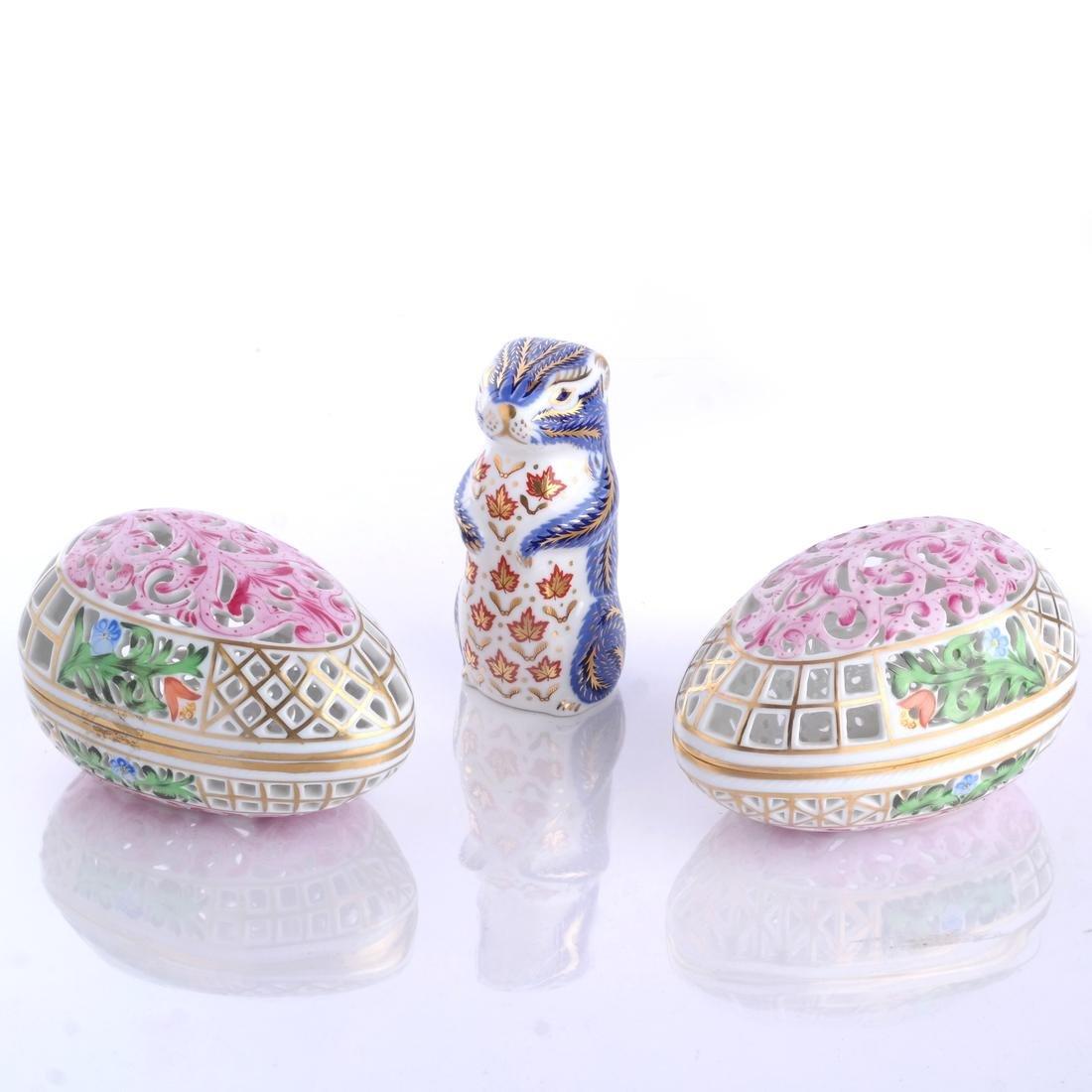 Herend Porcelain Decorative Articles