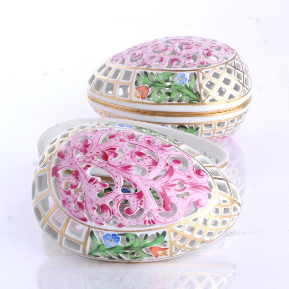 Herend Porcelain Decorative Articles - 4