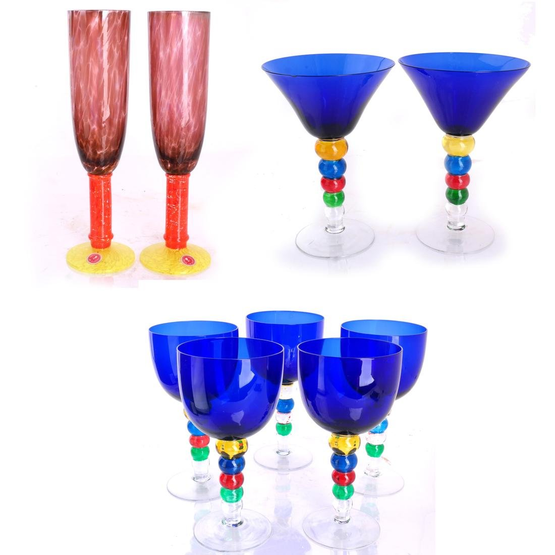 Mixed Group Glassware and Stemware