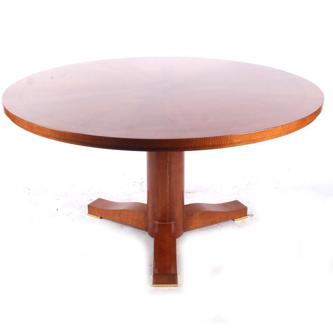 Karl Springer Regency-Style Table