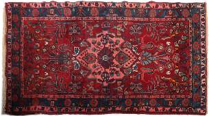 Iranian Oriental-Style Wool Rug