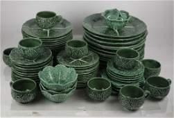 Cabbage Leaf Majolica Dinnerware