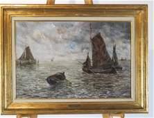 Jan C NEERVOORT Sailing Ships  OC