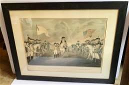 Original Currier & Ives: Lord Cornwallis Yorktown