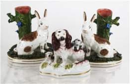 3 Pieces Nichols Ltd Staffordshire Porcelain