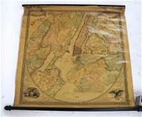 Stony's Map of Twelve Miles Around New York City