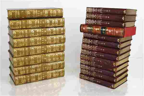 """Books: Lord Byron """"Complete Works"""" in 8 Vols."""