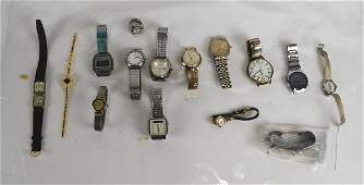 Group of Ladies  Mens Old Watches