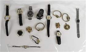 Group of Ladies  Mens Watches