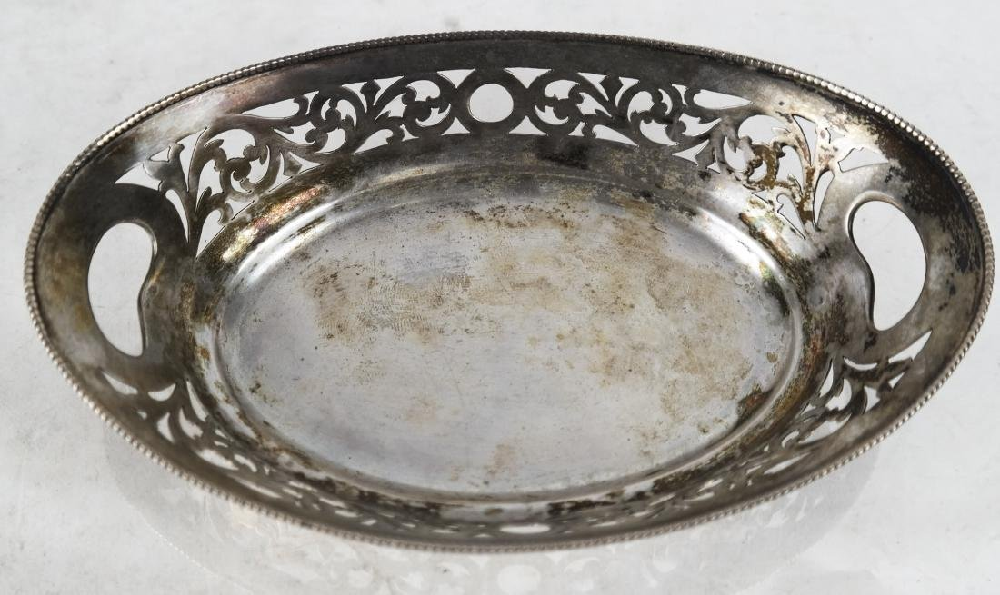 Early 20th C. Austrian Silver Sweet Meat Dish