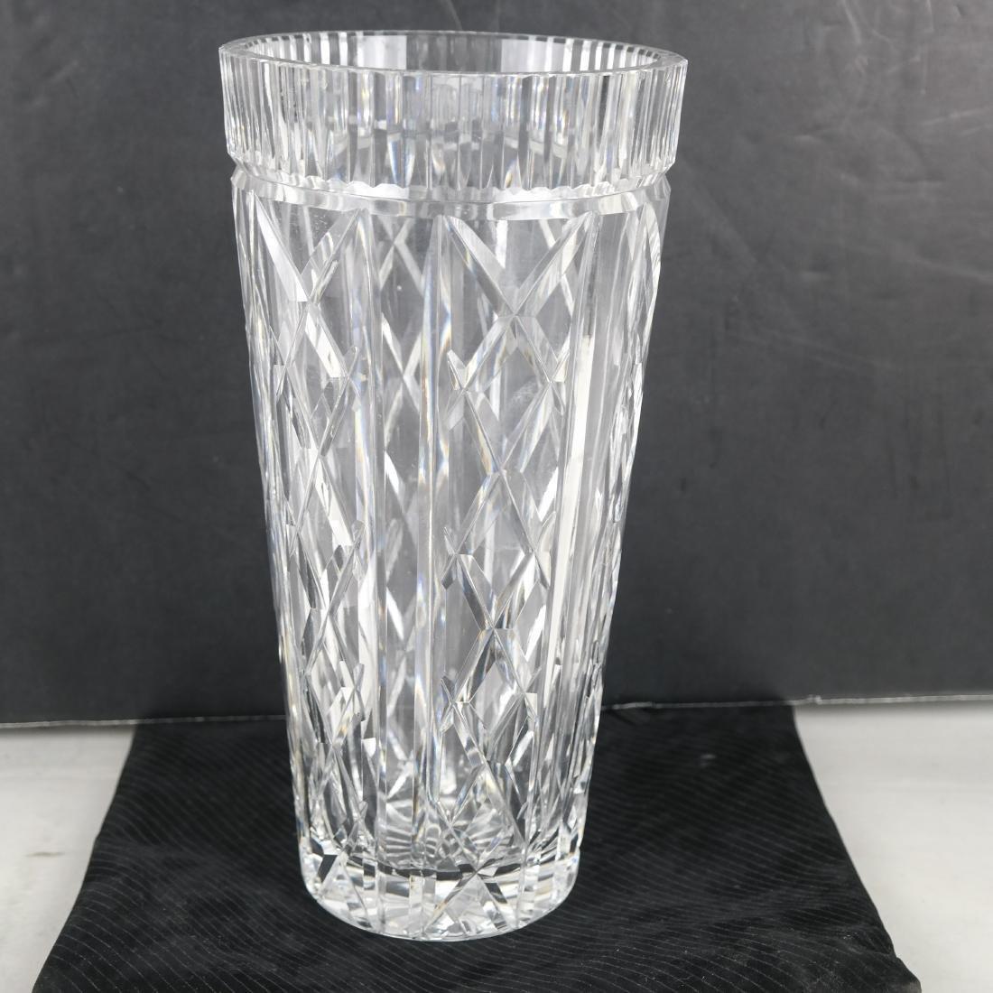 """Waterford Cut Crystal 10"""" Vase"""
