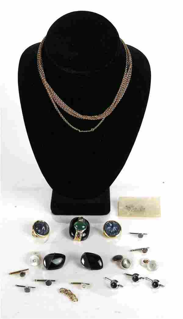 Lot of 14K and Costume Jewelry Items