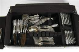 Wallace Sterling Silver Flatware for 12, More