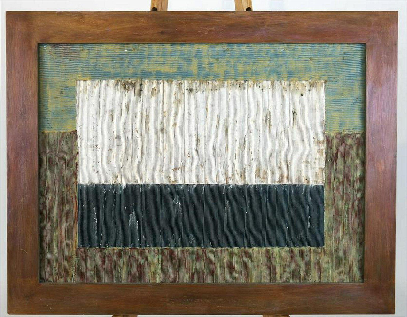 David GIBBS: Abstract, 1989 - Oil on Canvas