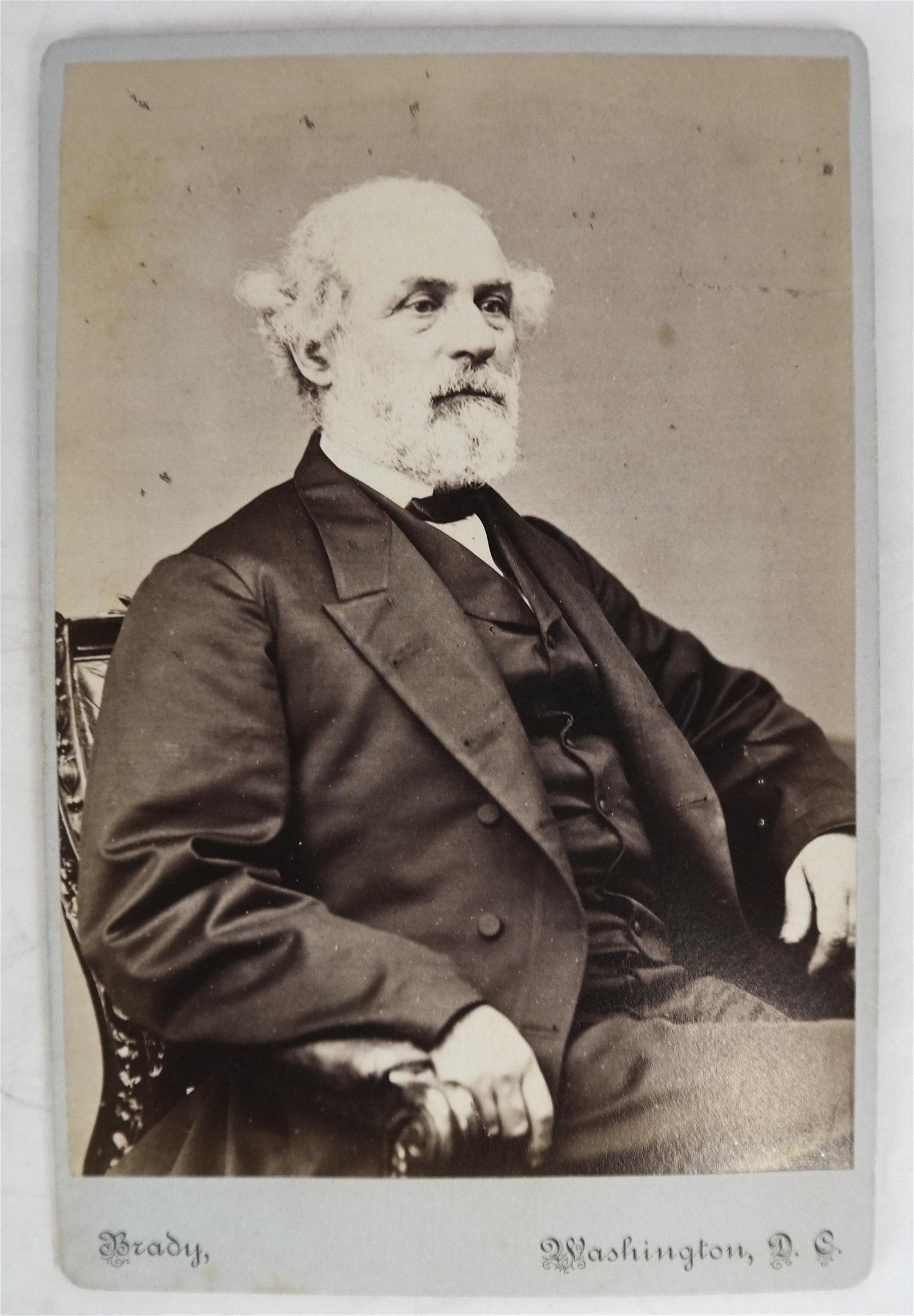 Gen. Robert E. Lee Cabinet Card
