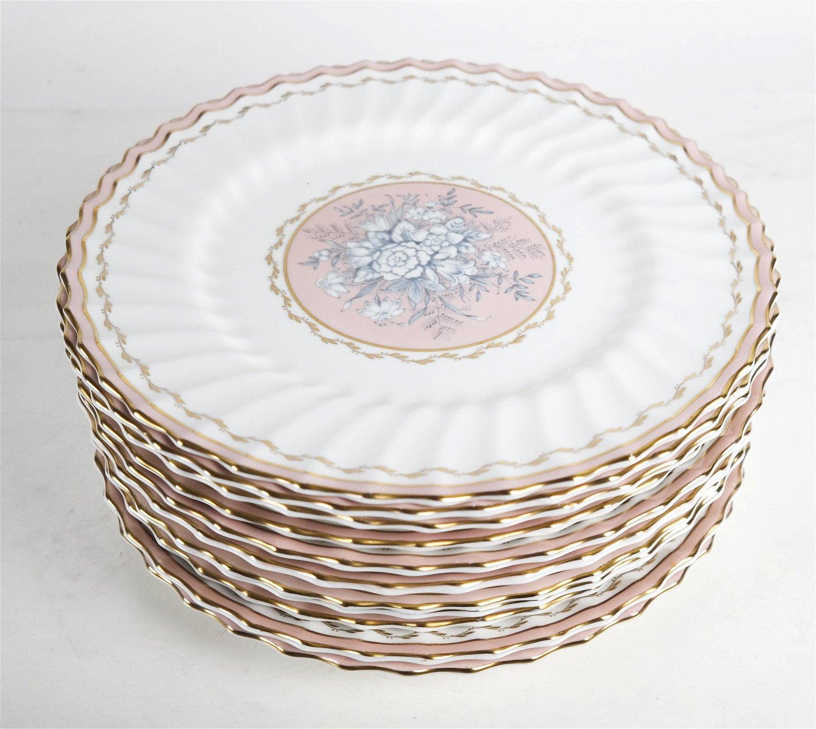 12 Royal Doulton, England Porcelain Plates
