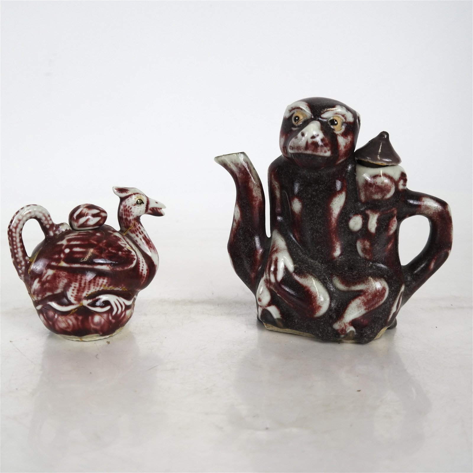 Two Chinese Ceramic Teapots
