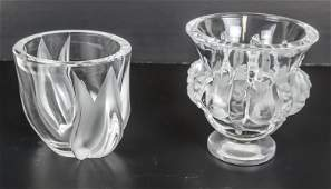 Two Lalique Vases