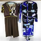 Emilio PUCCI: Two Vintage Silk Dresses