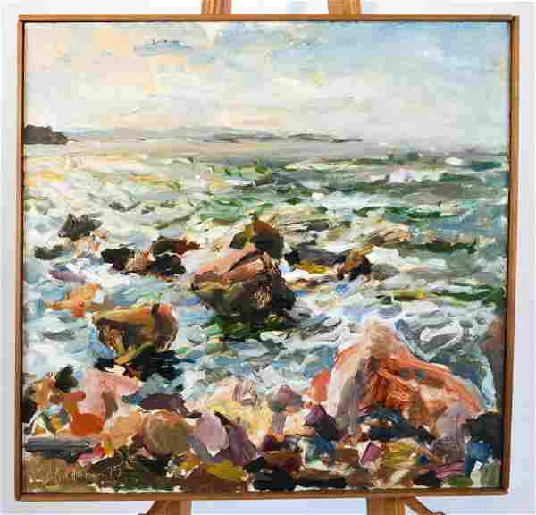 Raoul MIDDLEMAN: Shore (Untitled) - O/C