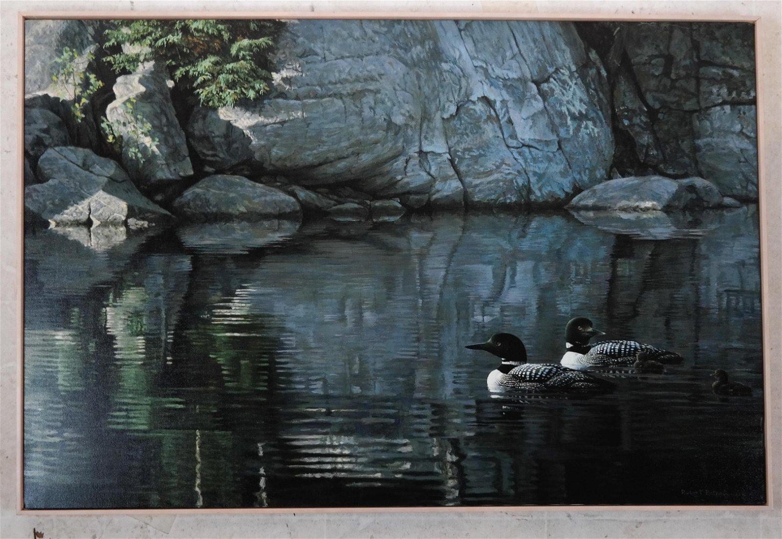 "Robert BATEMAN: ""Northern Reflections"" - LE Canvas"