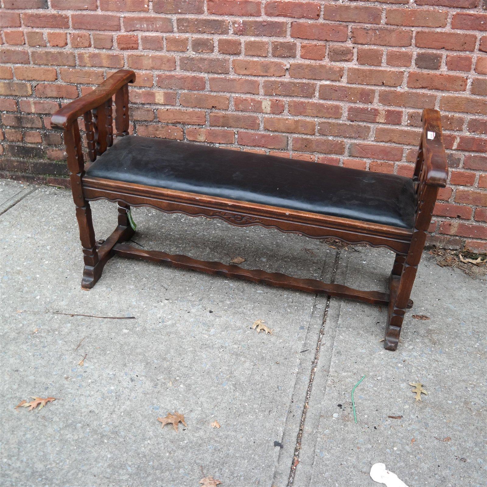 Tudor-Style Bench