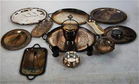 Group of Silver Plate