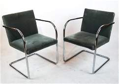 "Pair of Mies Van Der Rohe ""BRNO"" Chairs"