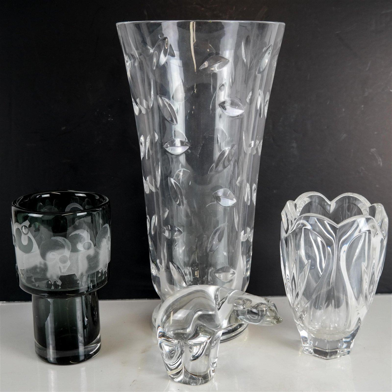 Tiffany, Kosta, Wedgwood, Waterford - 4 Items