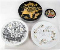 Bjorn WINBLAD for Rosenthal Chargers Plate