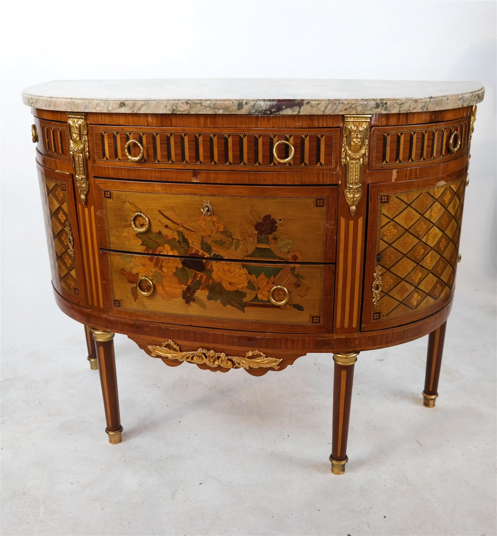19th C. French Inlaid Commode