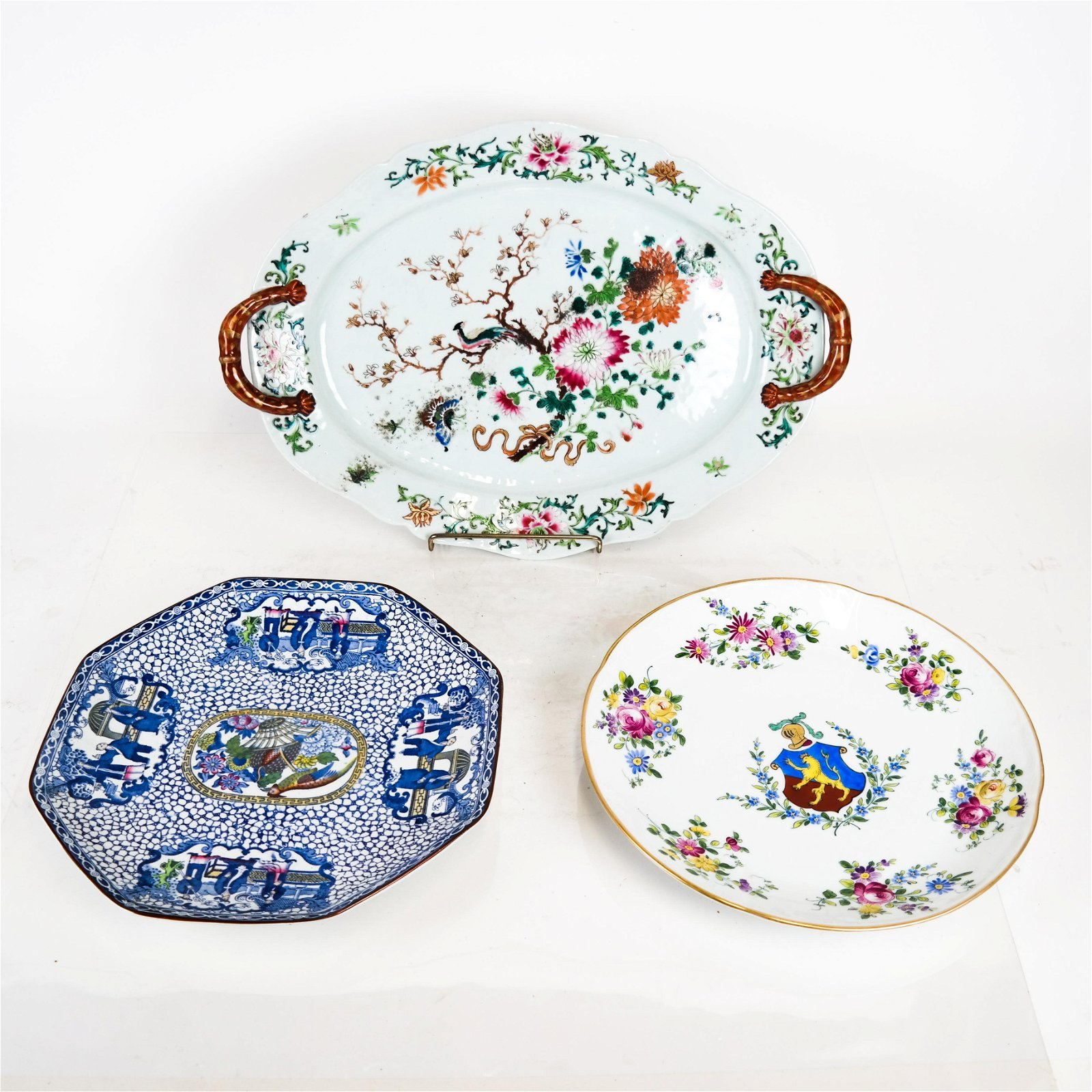 3 Items of English Porcelain Pottery