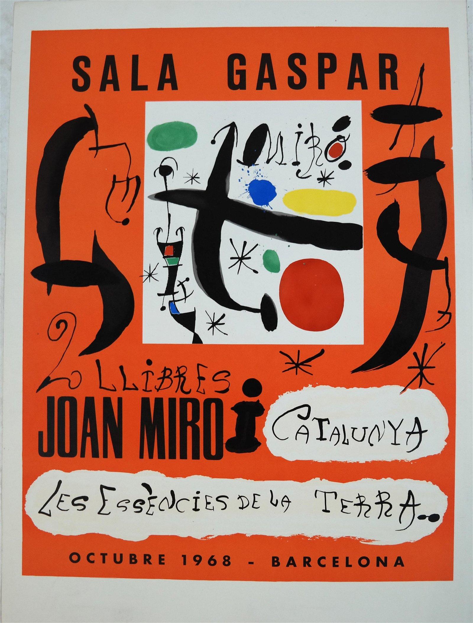 Joan MIRO: Sala Gaspar- Lithograph