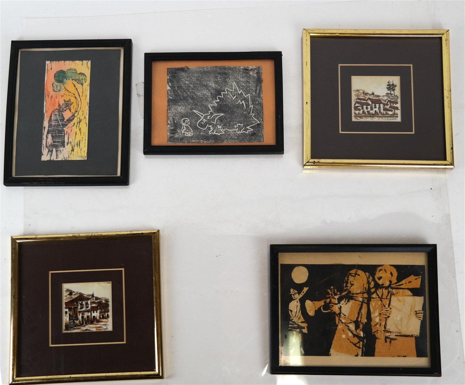 5 Decorative Prints