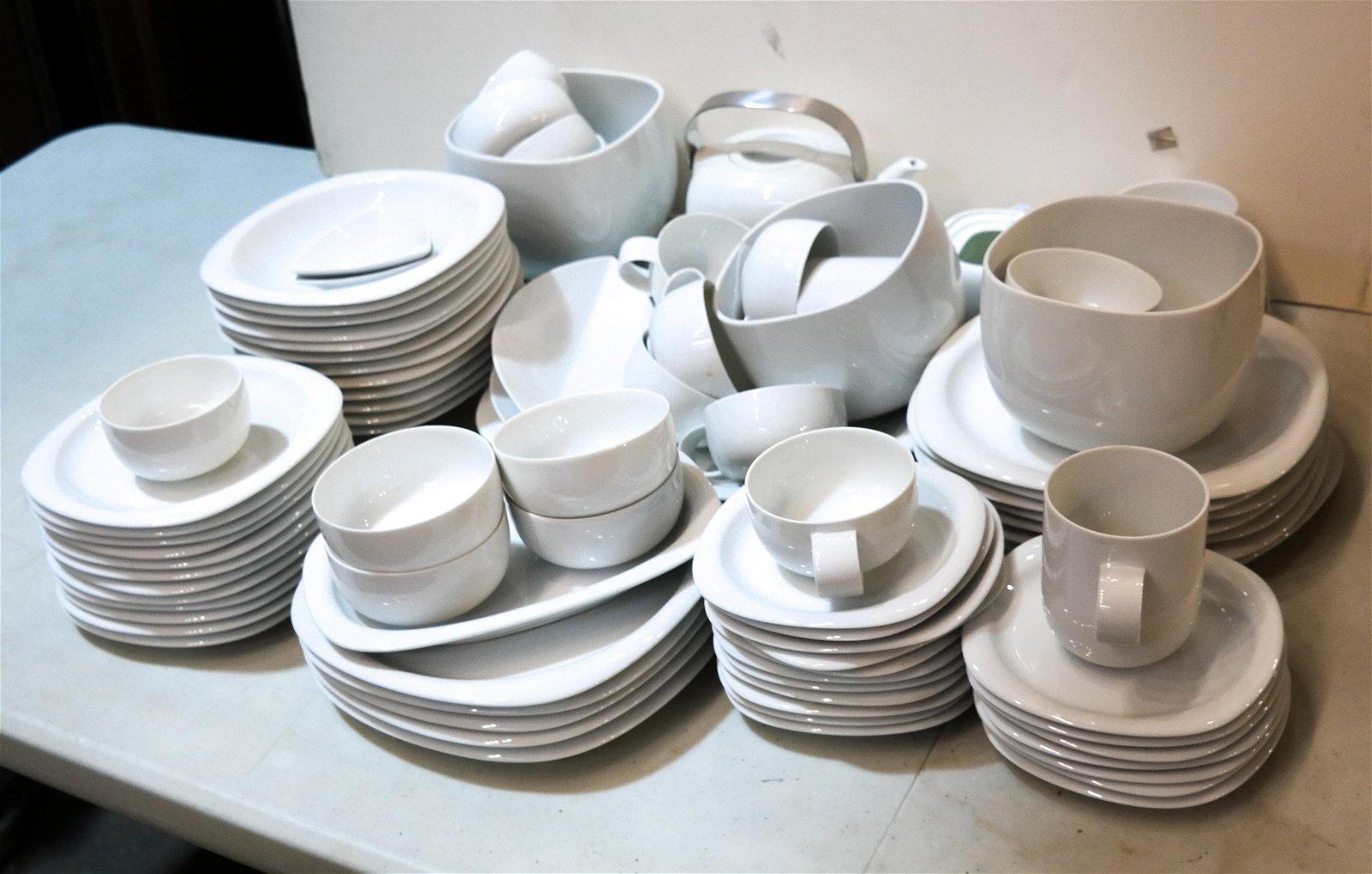 Modern Rosenthal Studio Line White Dinnerware