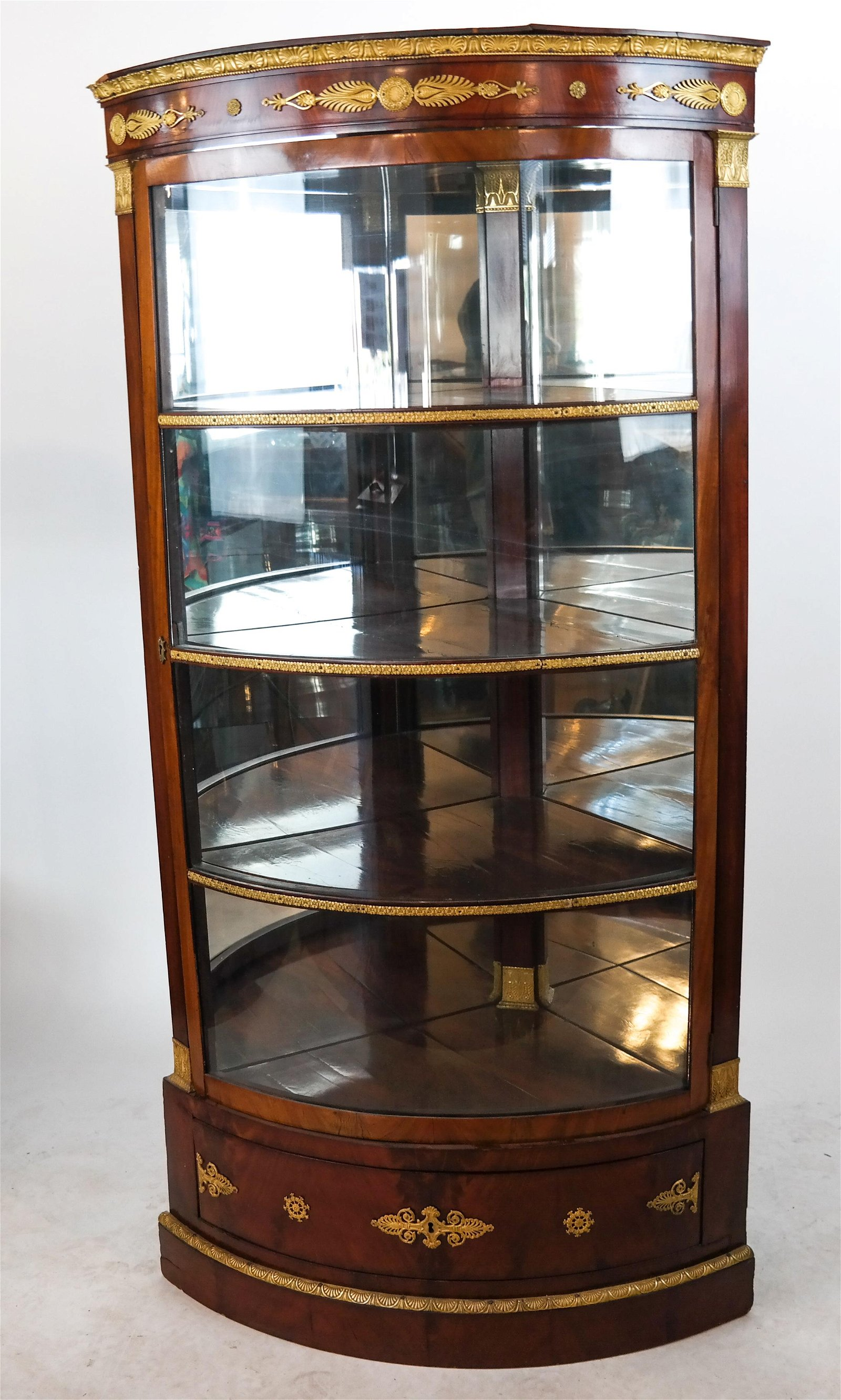 19th C. French Corner Cabinet