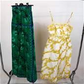 EMILIO PUCCI: Silk Skirt, Cotton Sun Dress