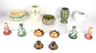American Roseville Pottery, 13 Pieces