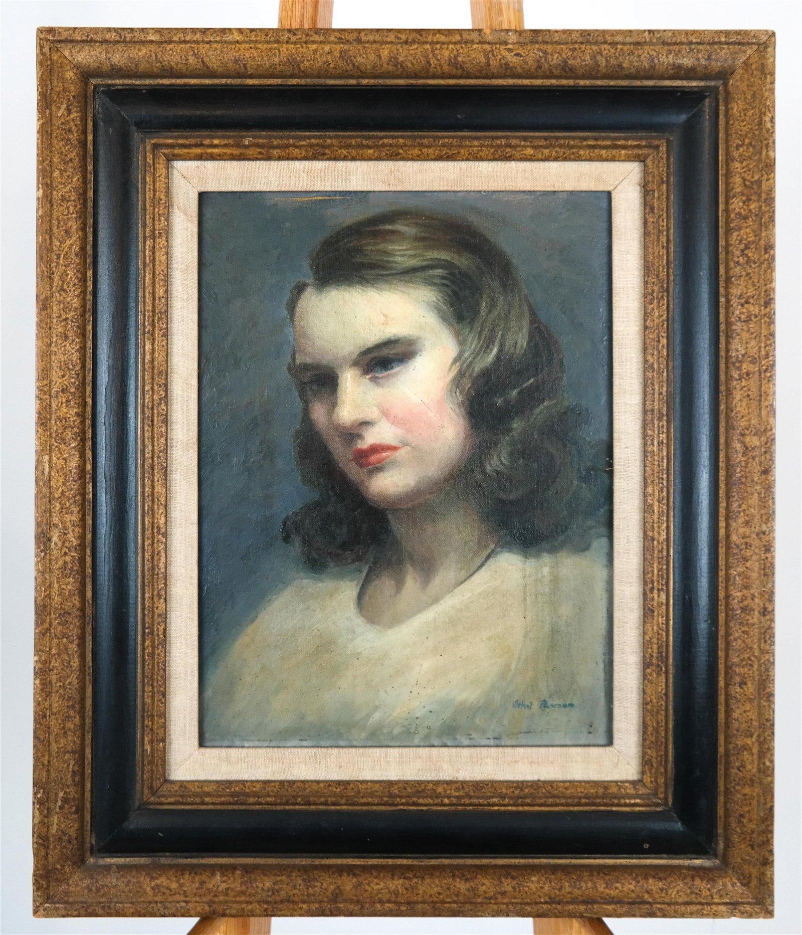 Ethel PAXSON: Portrait Woman