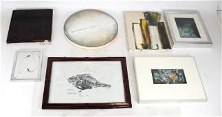 Group of Original Modern Art Works