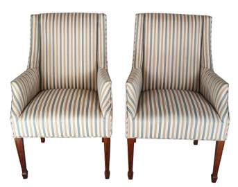 Pair of Host and Hostess Chairs