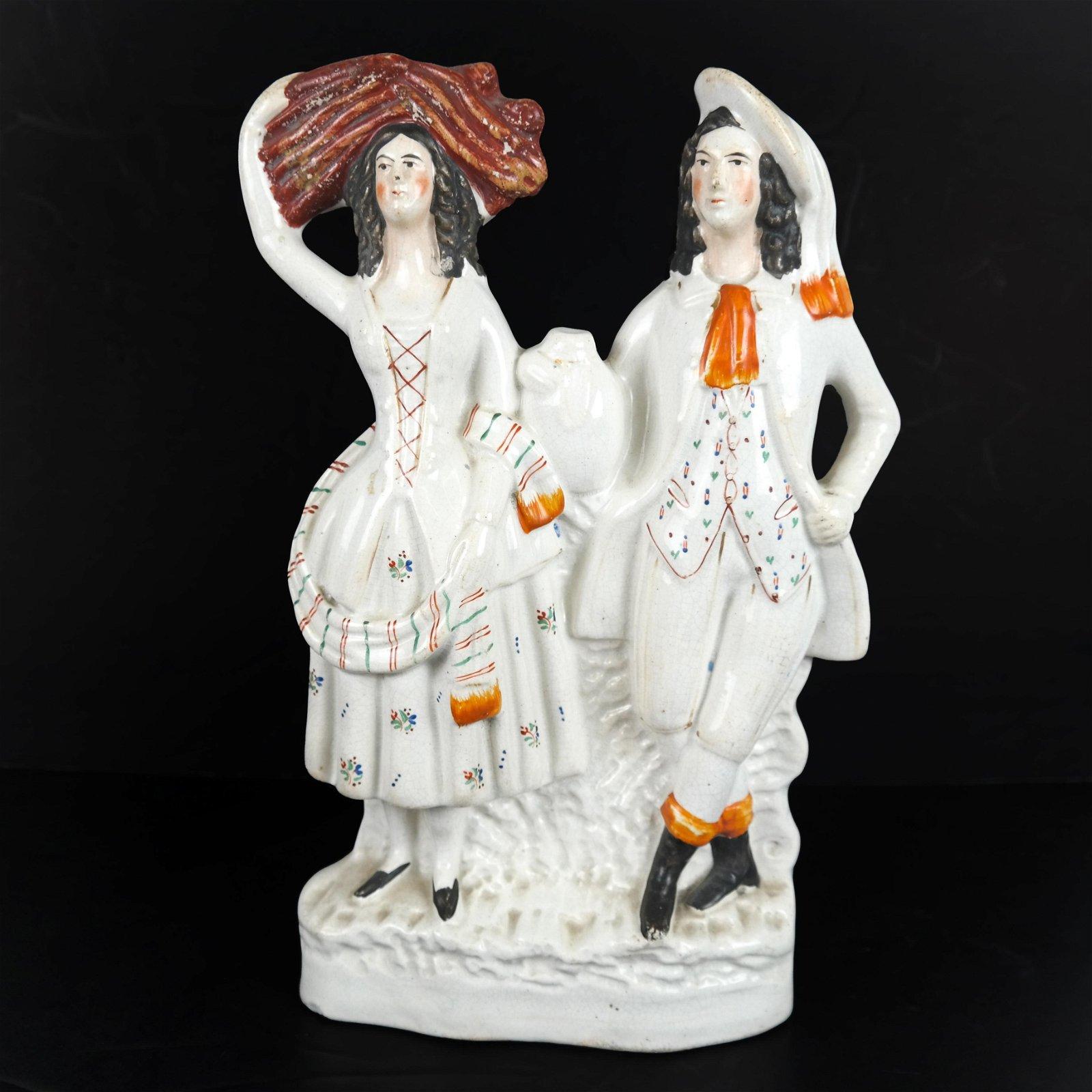 Staffordshire Porcelain Group