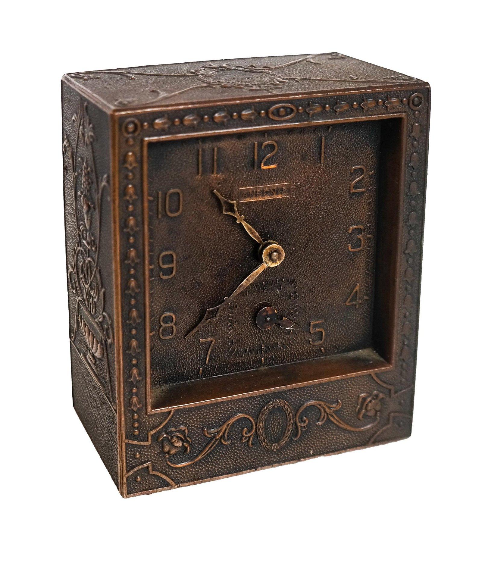 Ansonia Aesthetic Desk/Travel Clock