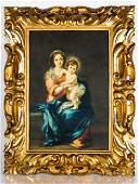 After MURILLO: Madonna & Child - Enhanced Print