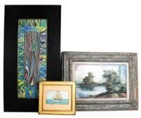 Three Original Art Works