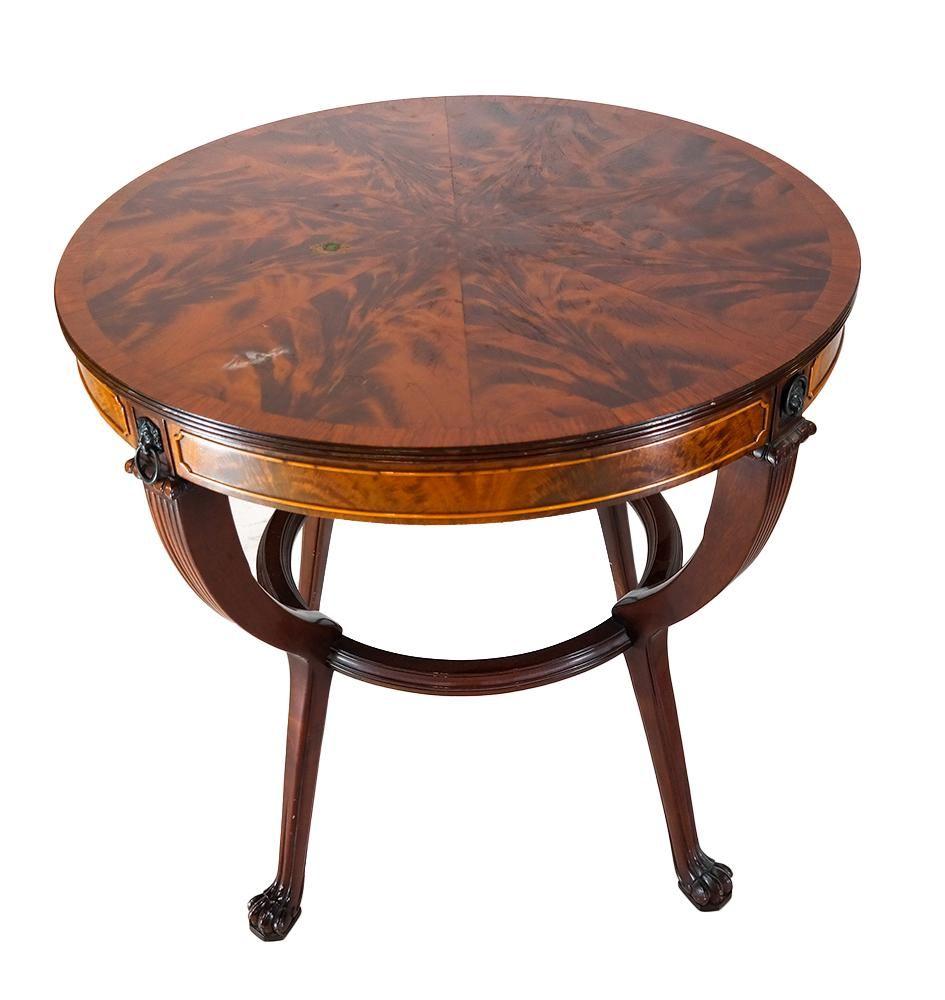 Schmieg & Kotzian NY Regency-Style Table
