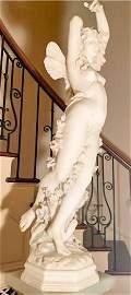"Cesare LAPINI: ""Psyche"" - Marble Sculpture"