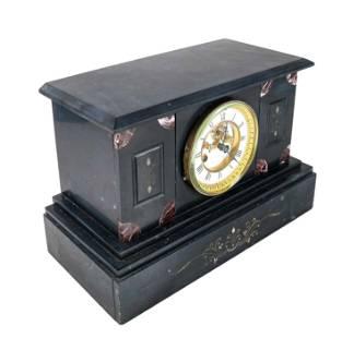 Slate & Marble Mantel Clock