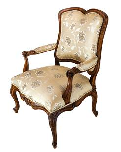 French-Style Arm Chair - Hickory Century
